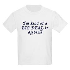 Big Deal in Alabama Kids T-Shirt