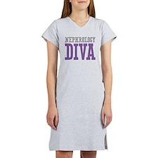 Nephrology DIVA Women's Nightshirt