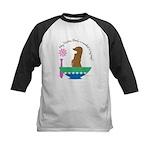 Meerkat Soup Kids Baseball Jersey