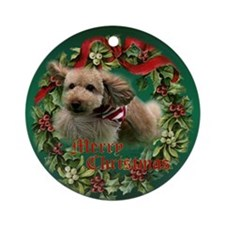 Agility Puppy Keepsake/ Ornament (Round)