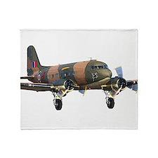 C-47 Skytrain Throw Blanket