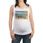 Hokusai Sazai Hall Maternity Tank Top