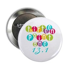 "Thirteen Point One 13.1 2.25"" Button (100 pack)"