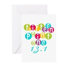 Thirteen Point One 13.1 Greeting Cards (Pk of 10)