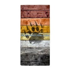 Bear pride Beach Towel