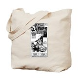 Clara Bow Wine Tote Bag