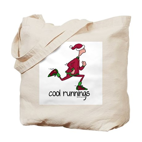 Cool Runnings Man Tote Bag