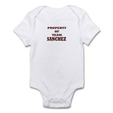 Property of team Sanchez Infant Bodysuit