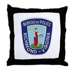 Richmond Police Throw Pillow