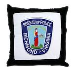Richmond Police Throw Pillow