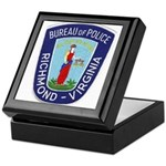 Richmond Police Keepsake Box