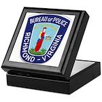 Richmond Police Keepsake Box