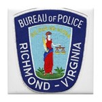 Richmond Police Tile Coaster
