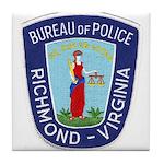 Richmond Police Tile Coaster