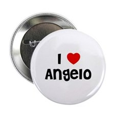 "I * Angelo 2.25"" Button (10 pack)"