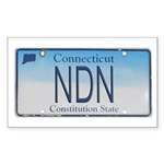 Connecticut NDN Pride Rectangle Sticker