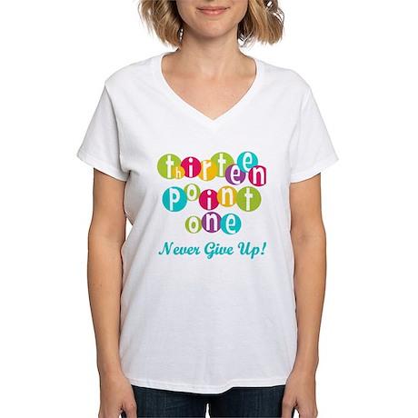 Twenty Six Point Two Women's V-Neck T-Shirt