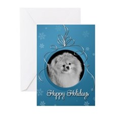 Elegant Pomeranian Holiday Cards (Pk of 10)