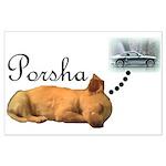 Porsha Dreams Large Poster