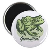 Love the Frog French Magnet