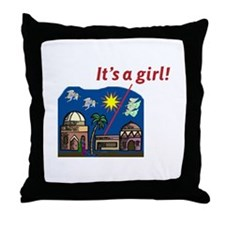 It's a Girl! -  Throw Pillow