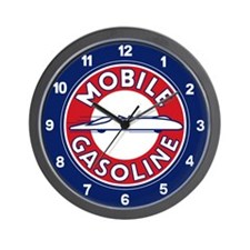 Mobile Gasoline Wall Clock