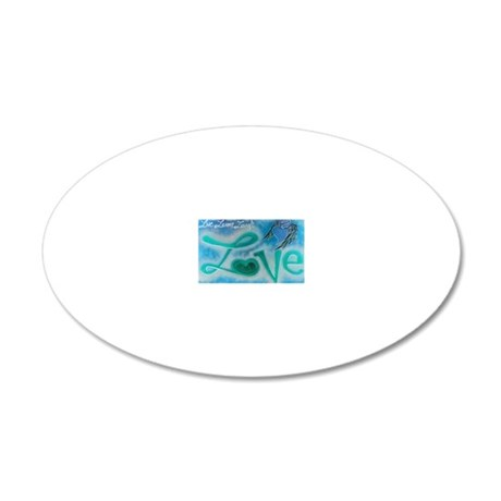 4L 20x12 Oval Wall Decal