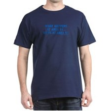 What Happens in Area 51 - Navy T-Shirt