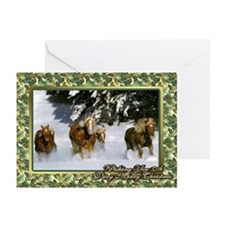 Haflinger Horse Christmas Greeting Cards (Pk of 10