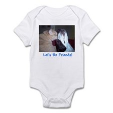 Let's Be Friends Infant Bodysuit