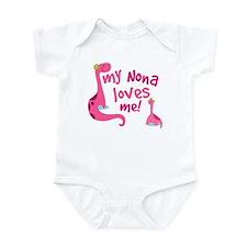 My Nona Loves Me Infant Bodysuit