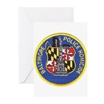 Baltimore Homicide Greeting Cards (Pk of 10)