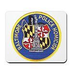 Baltimore Homicide Mousepad