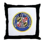 Baltimore Homicide Throw Pillow