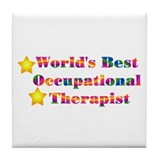 World's Best OT Tile Coaster
