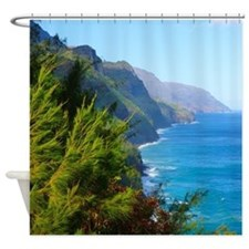 Tropical Shower Curtains | Tropical Fabric Shower Curtain Liner