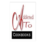 Addicted To Cookbooks Postcards (Package of 8)