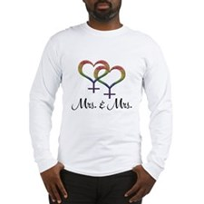 Mrs Mrs Long Sleeve T-Shirt