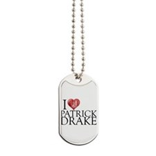 I Heart Patrick Drake Dog Tags
