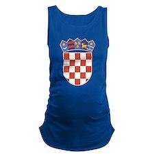 Croatia Coat Of Arms Maternity Tank Top