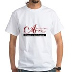 Addicted To Cookbooks White T-Shirt