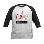 Addicted To Cookbooks Kids Baseball Jersey