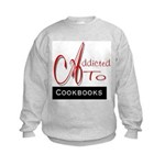 Addicted To Cookbooks Kids Sweatshirt