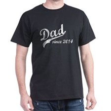 New Dad Since 2014 T-Shirt