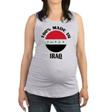 Made In Iraq Maternity Tank Top