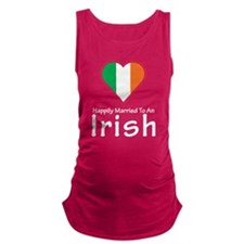 Happily Married Irish Maternity Tank Top