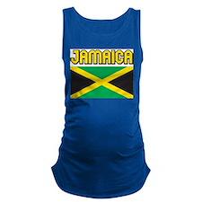 Jamaica Flag Maternity Tank Top