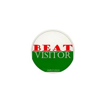 Beat Visitor | Mini Button