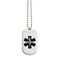 Medic EMS Star of L... Dog Tags