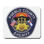 Pueblo Sheriff Mousepad